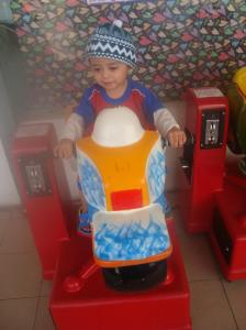 A rider like his father